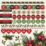 Kaisercraft - Basecoat Christmas Collection - 12 x 12 Sticker Sheet