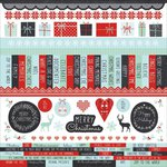 Kaisercraft - North Pole Collection - Christmas - 12 x 12 Sticker Sheet
