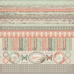 Kaisercraft - Rustic Harmony Collection - 12 x 12 Sticker Sheet