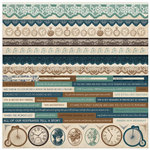 Kaisercraft - Betsy's Couture Collection - 12 x 12 Sticker Sheet