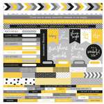 Kaisercraft - Shine Bright Collection - 12 x 12 Sticker Sheet