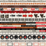 Kaisercraft - On Stage Collection - 12 x 12 Sticker Sheet