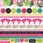 Kaisercraft - Say Aloha Collection - 12 x 12 Sticker Sheet