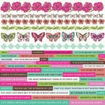 Kaisercraft - Fly Free Collection - 12 x 12 Sticker Sheet