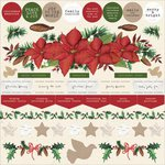 Kaisercraft - Home for Christmas Collection - 12 x 12 Sticker Sheet