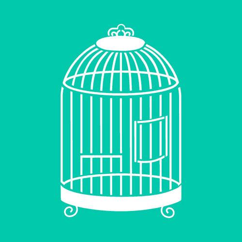 Kaisercraft - Stencils Template - Birdcage