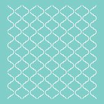 Kaisercraft - 12 x 12 Stencils Template - Lattice