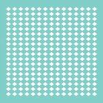 Kaisercraft - 12 x 12 Stencils Template - Diamonds