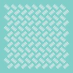 Kaisercraft - 12 x 12 Stencils Template - Checker Plate