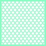 Kaisercraft - 12 x 12 Stencils Template - Moroccan Lattice