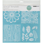 Kaisercraft - 12 x 12 Template - Flora Quarters