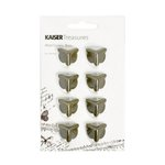 Kaisercraft - Kaisertreasures - Metal Corners - Brass