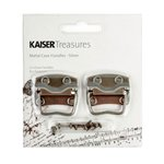 Kaisercraft - Kaisertreasures - Metal Case Handles - Silver