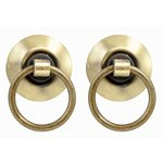 Kaisercraft - Kaisertreasures - Metal Door Knocker - Brass