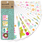 K and Company - Greenhouse Collection - Rub Ons Swatch Book, CLEARANCE