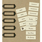 K and Company - Eco-Modern Collection - Metal Art - Label Holders