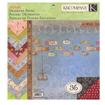 K and Company - Daydreams Collection - 12 x 12 Designer Paper Pad