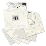 K and Company - Simply K - 12 x 12 Boxed Scrapbook Kit - Classic Wedding