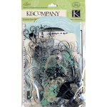 K and Company - Elegance Collection - Die Cut Cardstock and Acetate Pack