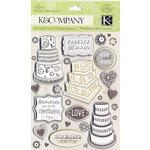 K and Company - Elegance Collection - Grand Adhesions Stickers - Wedding Icons, CLEARANCE