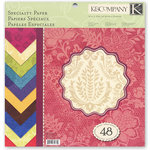 K and Company - Berry Nice Collection - 12 x 12 Specialty Paper Pad
