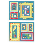 K and Company - Spaghetti Collection - Pillow Stickers - Frames