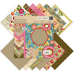 K and Company - Handmade Collection - 12 x 12 Specialty Paper Pad - Cara Marie