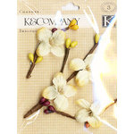 K and Company - Blossomwood Collection by Tim Coffey - Flower and Twig Charmers, CLEARANCE
