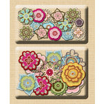 K and Company - Handmade Collection - Layered Accents - Mixed Petal, CLEARANCE