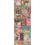 K and Company - Jubilee Collection - Embossed Stickers with Foil Accents - Words and Phrases