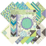 K and Company - PoppySeed Collection - 12 x 12 Specialty Paper Pad, CLEARANCE