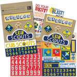 K and Company - Boy Scouts of America Collection - Embellishment Flip Pack - Cub Scout, CLEARANCE