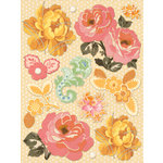 K and Company - Handmade Collection - Grand Adhesions Stickers - Floral