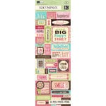 K and Company - Blossom Collection - Embossed Stickers