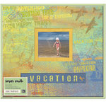 K and Company - Happy Trails Collection - 12 x 12 Scrapbook Album