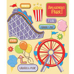 K and Company - Life's Little Occasions Collection - 3 Dimensional Stickers  with  Epoxy Accents - Amusement Park