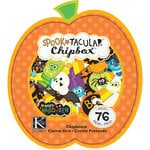 K and Company - Spooktacular Collection - Chipboard Box with Glitter Accents - Pumpkin