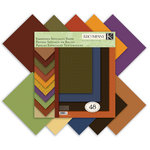 K and Company - 12 x 12 Embossed Specialty Paper Pad - Fall