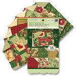 K and Company - Glad Tidings Collection - Christmas - Die Cut Cardmaking Paper Pad, CLEARANCE