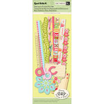 K and Company - Sweet Nectar Collection - Specialty Punch Out Paper Pad with Glitter Accents