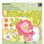 K and Company - Sweet Nectar Collection - Die Cut Paper Pack