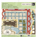 K and Company - Julianne Collection - Die Cut Paper Pack