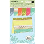 K and Company - Sweet Nectar Collection - Die Cut Cardmaking Paper Pad - Scroll
