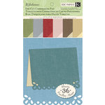 K and Company - Julianne Collection - Die Cut Cardmaking Pad - Solid