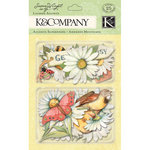 K and Company - Spring Blossom Collection - Layered Accents with Glitter Accents - Daisy