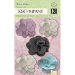 K and Company - Flora and Fauna Collection - Fabric Art - Tulle Flower