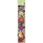 K and Company - Flora and Fauna Collection - Adhesive Borders with Glitter Accents