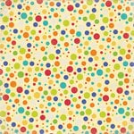 K and Company - Confetti Collection - 12 x 12 Paper - Scatter Dots