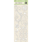K and Company - Elegance Collection - Adhesive Gems - Swirl