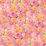K and Company - Spring Blossom Collection - 12 x 12 Paper - Roses